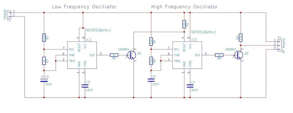 Tip41c准互补电路图