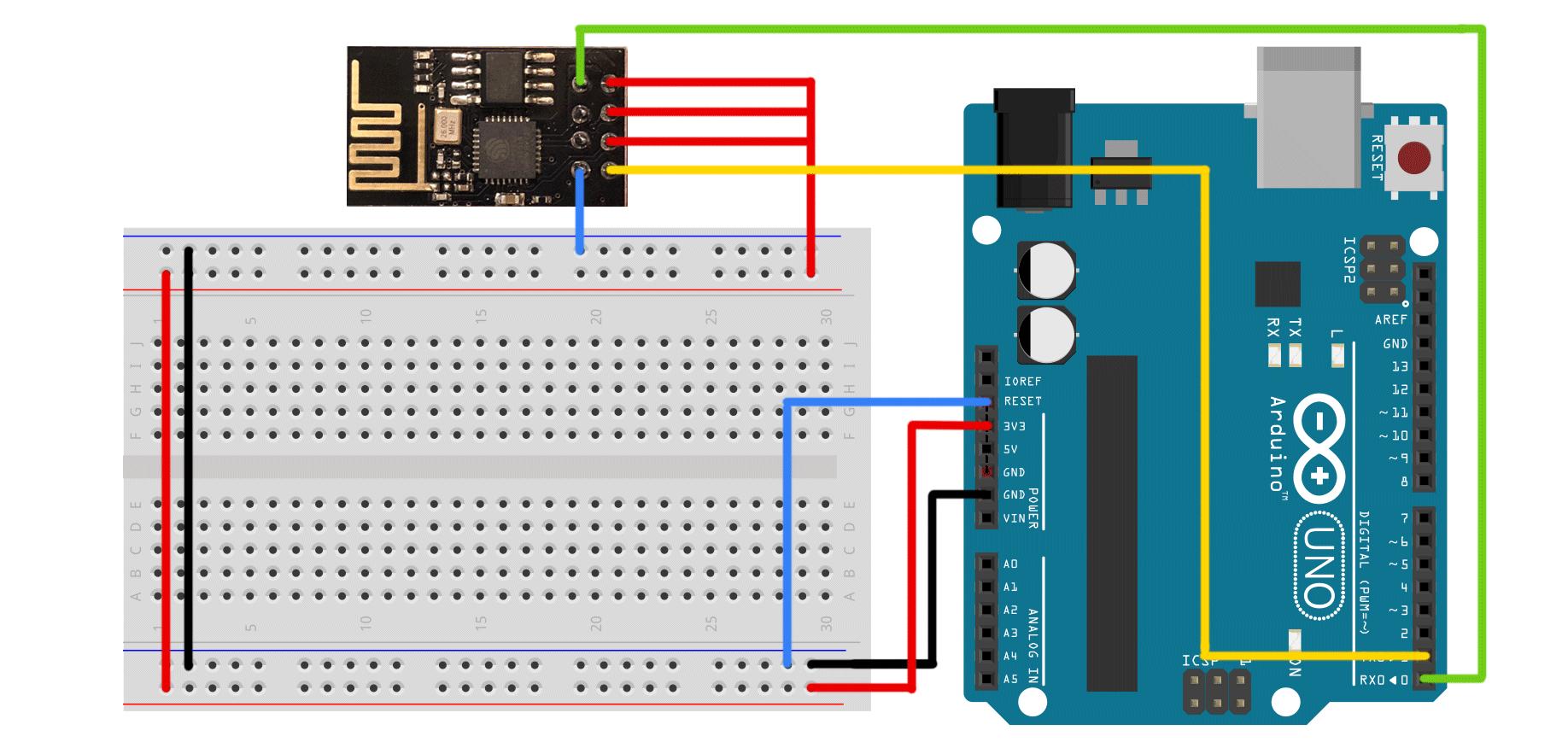怎样用ESP8266为Arduino或树莓派提供无身形就这样向着后面推去线功能