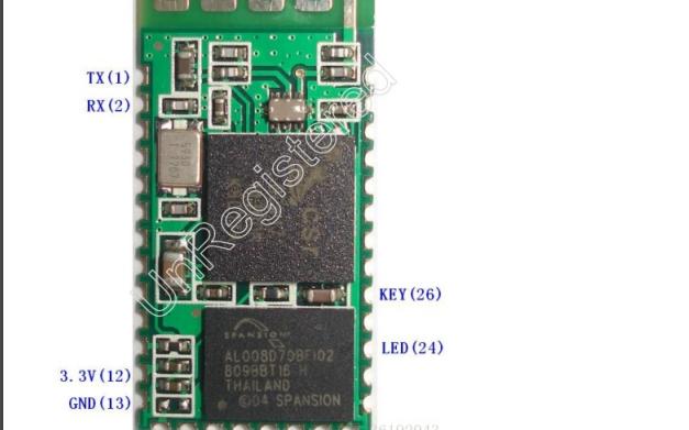 HC-06藍牙模塊的應用說明和控制小燈亮滅的程序免費下載