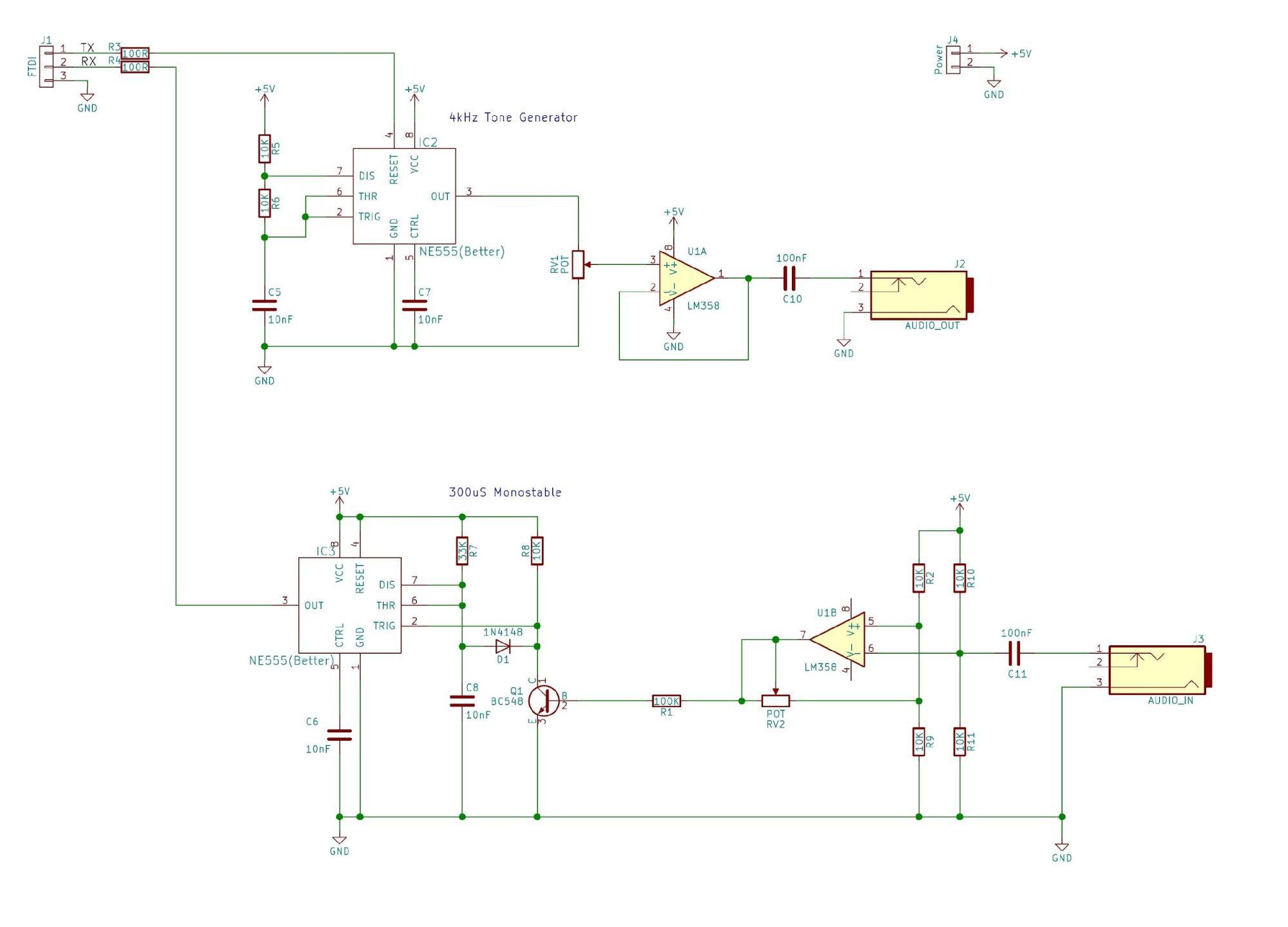 如何构建一个简单的UART到磁带接口