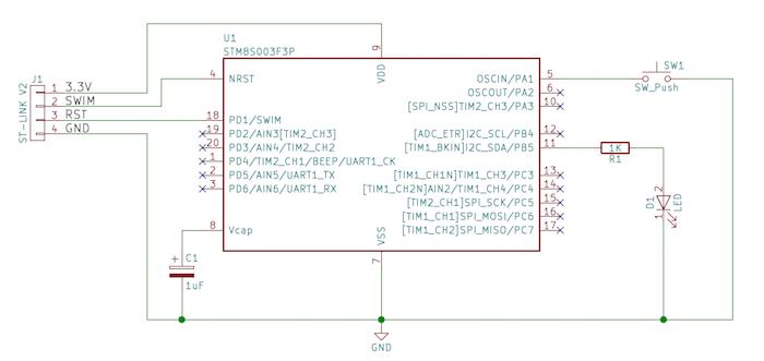 如何在STM8微控制器上使用GPIO