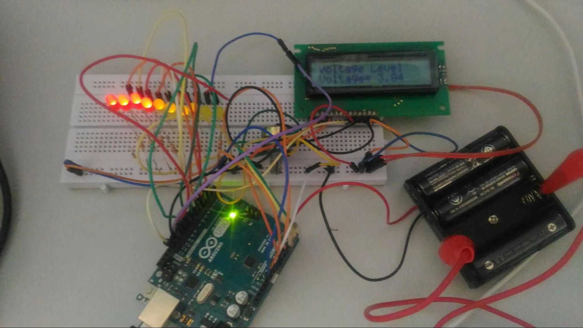 如何构建基于Arduino的电压指示器