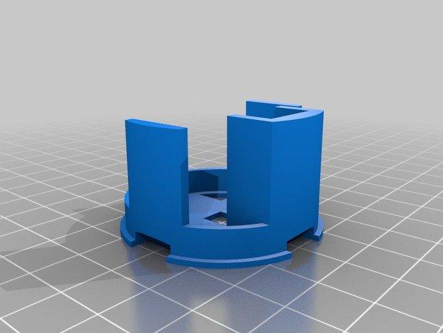 如何布置3D打印部件以制作DestinyGhos...