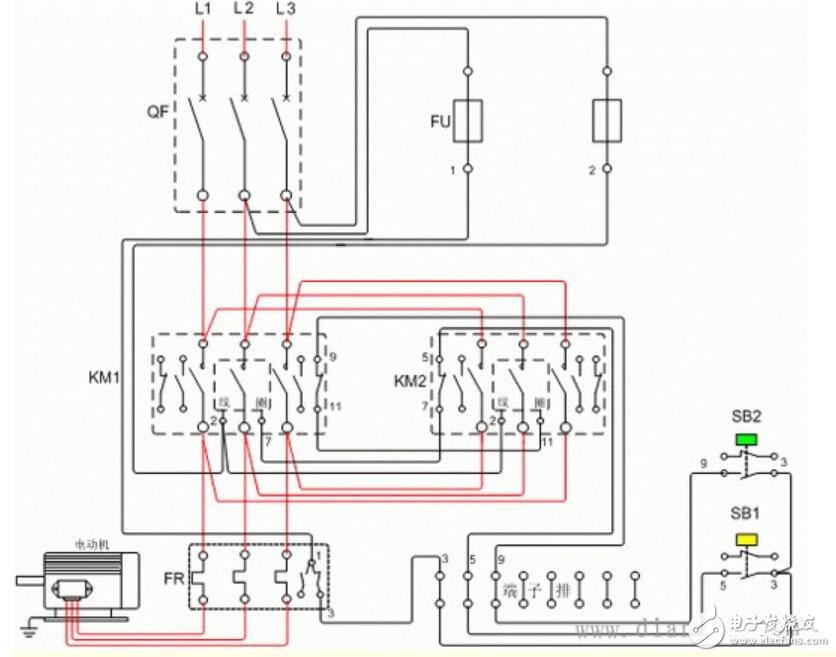 2个接触器互锁电路大全