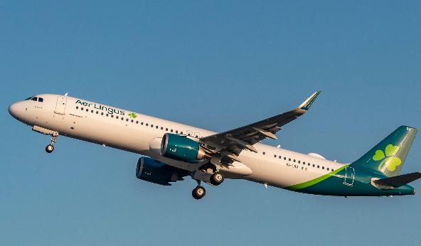 爱尔兰航空接收了空客首架远程型A321LR飞机