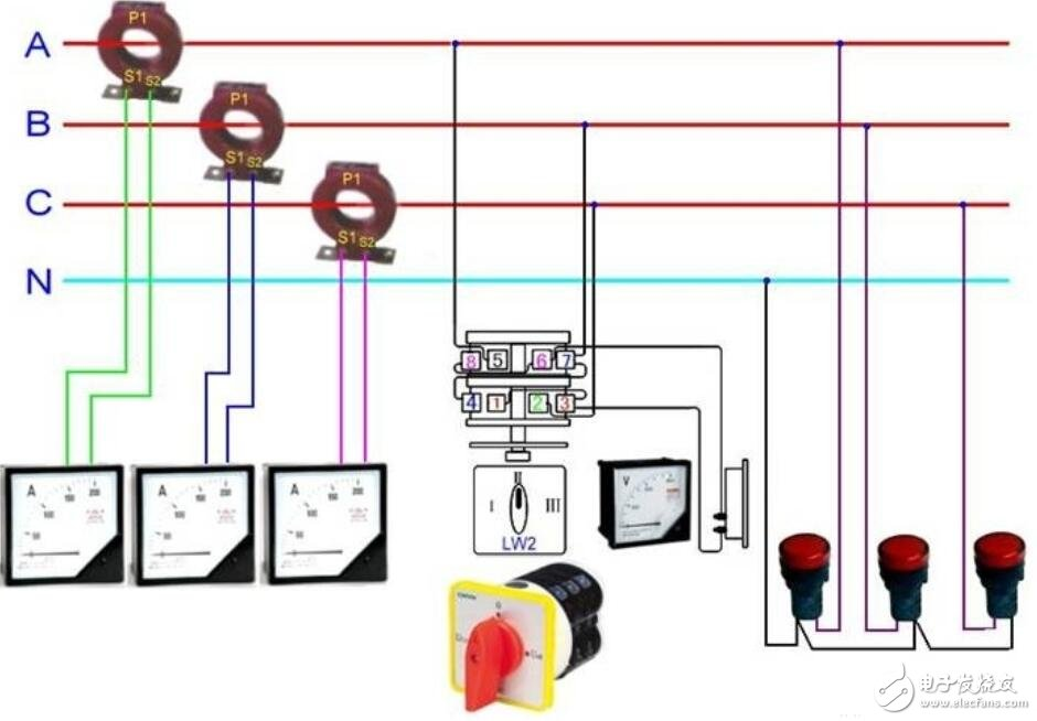 Current transformer physical wiring diagram - Hqew.netHqew.net