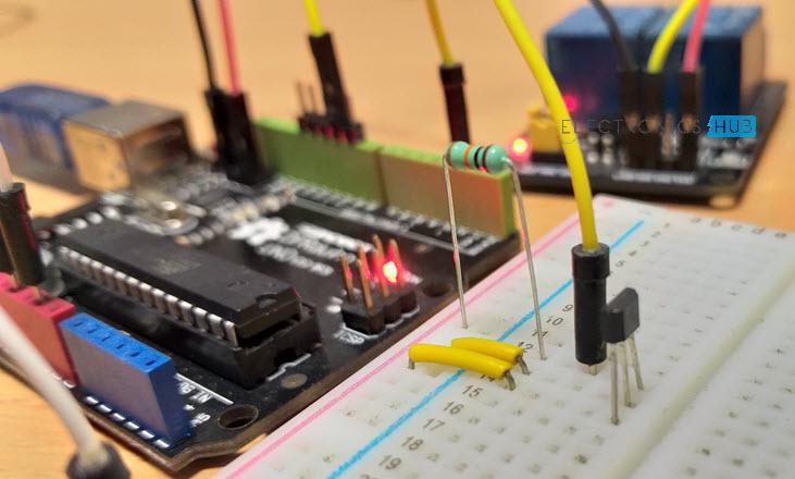 怎样使用霍尔效应传感器和Arduino控制继电器