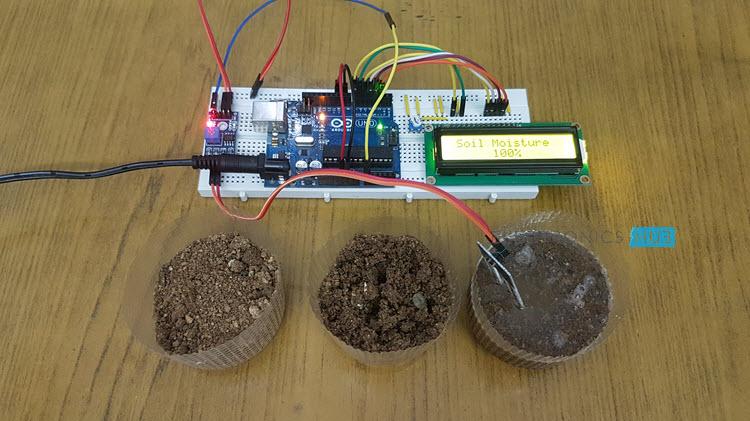 如何将土壤湿度传感器与Arduino接口