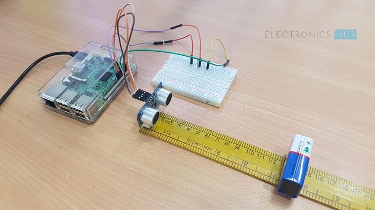 如何将HC-SR04超声波与树莓⌒派连接