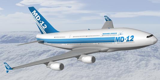 麦道集团提出的MD-12双层客机计划为何没能成功实施