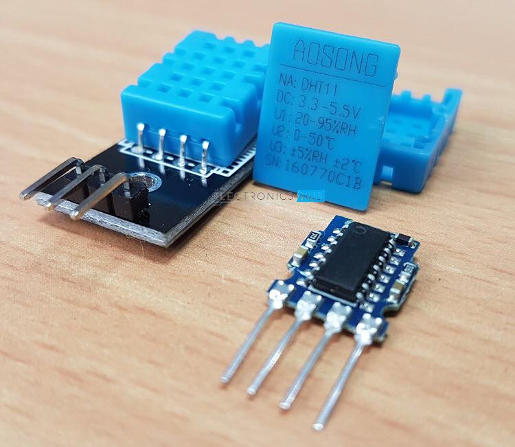 如何将DHT11温度和湿度传感器与树莓派连接