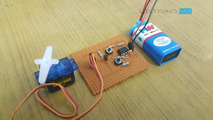 简易伺服电机测试仪电路制作教程