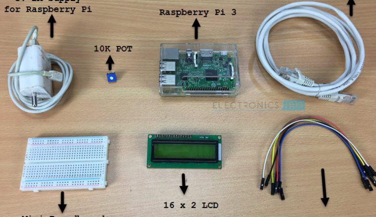 16×2LCD与树莓派的连接方法