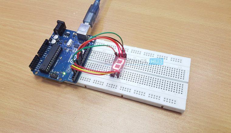 Arduino7段顯示接口的工作原理