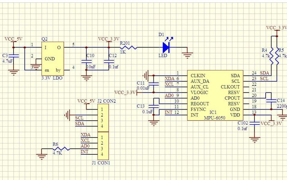 使用STM32单片机读取MPU6050传感器数据的程序免费下载