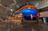 艾比森LED创意从机场 到比赛现场LED大屏无处不美!