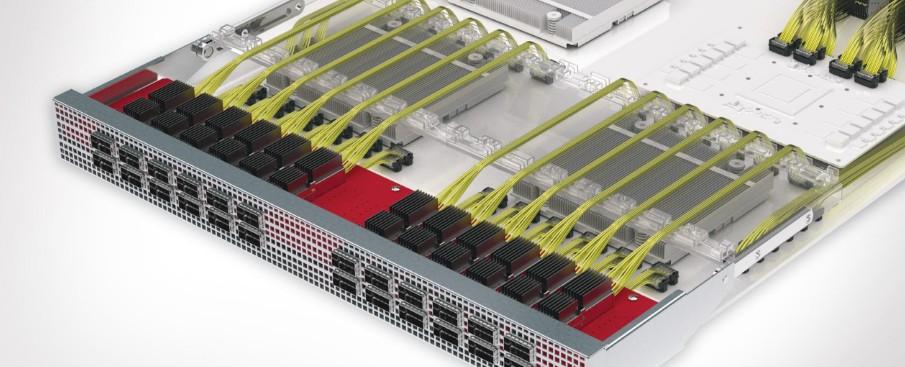 基于ASIC的高速双同轴解决方案