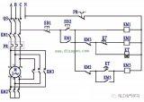 星三角降压启动电路是一个比较经典的电路