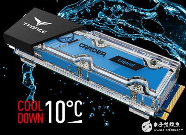 十铨推出水冷M.2规格固态硬盘 读写速度可达每秒3400/3000MB