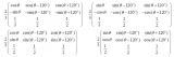 容易混淆的4种派克(Park)变换矩阵的基本原理