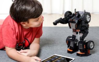 乐森星际特工机器人引领教育机器人新时代