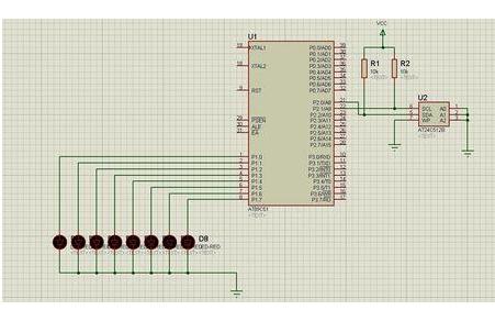 使用51单片机开发板进行数码管显示的实验代码和工程文件免费下载
