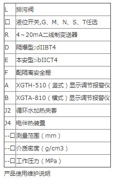 磁翻板液位计的适用范围及技术参数