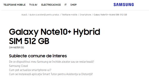 三星Note10系列新机曝光将搭载骁龙855处理器最高1TB存储