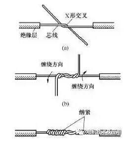 电线线头最规范接法_电线接头接法图解_接线图分享