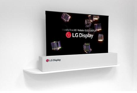 LG已通过了一项名为LG Rolling的商标LG将可能推出滚动屏设备