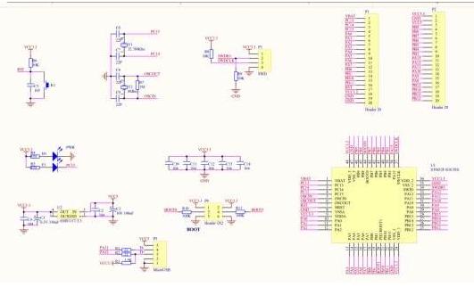 使用STM32单片机核心板应用0.96OLED显示屏的驱动程序免费下载
