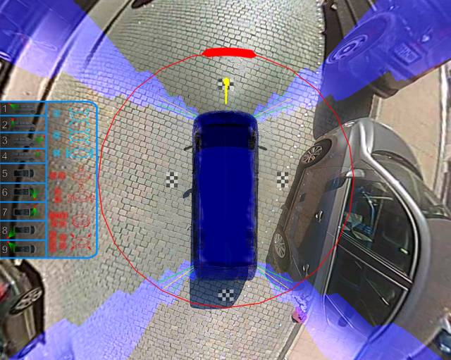 可定制化嵌入式 3D 环视一站式功能应用介绍