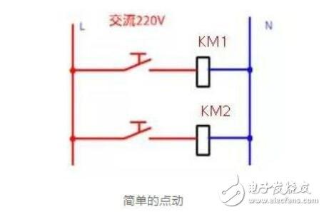 接触器常用接线电路及实物图大全