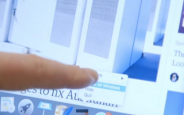 MBA触控屏产品现已新增多点触控功能