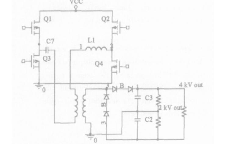 高压大功率开关电源的PSPICE计算机辅助设计的实例说明