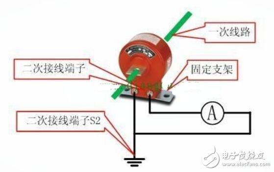 电流互感器二次接线