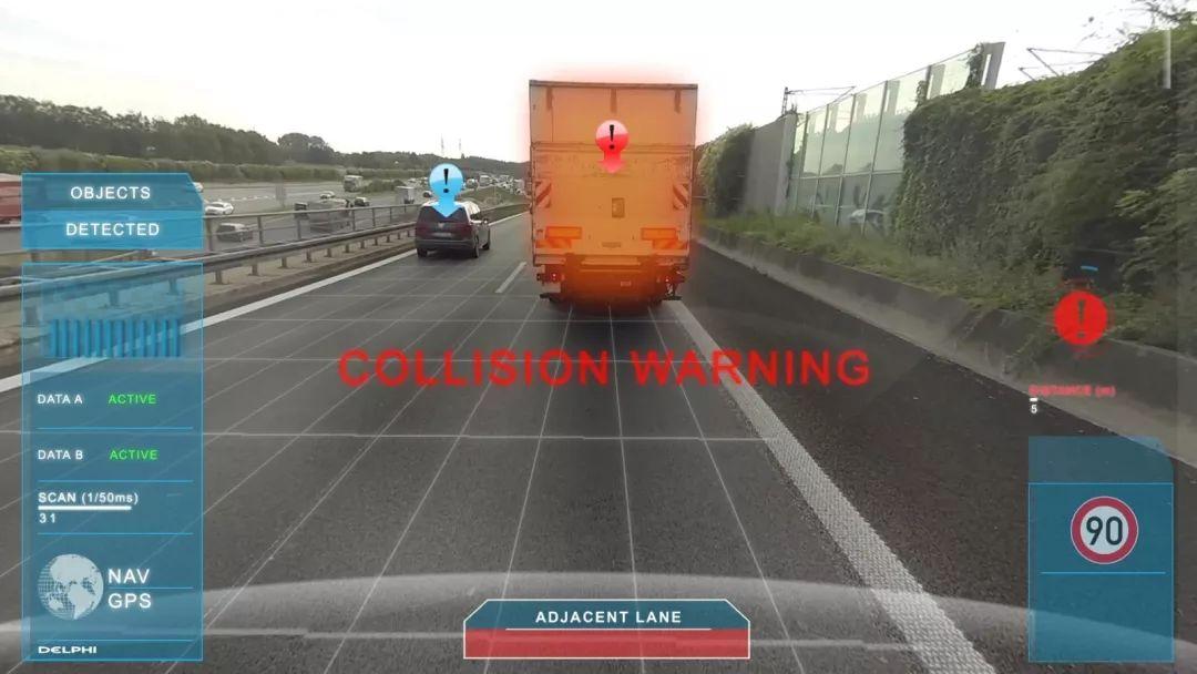 关于智能科技对卡车安全的帮助介绍