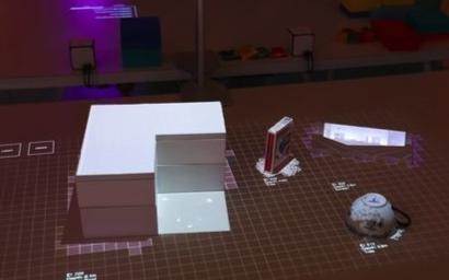 索尼最新推出3D触控式投影交互技术