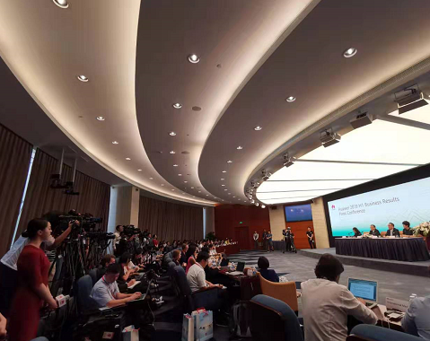 华为2019年上半年销售收入4013亿人民币同比...