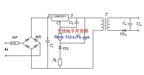 LNK系列单片开关电源集成电路的EMC与EMI设计