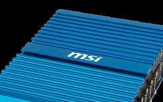 微星将发布最新MS-9A89嵌入式技翻开术纵然你是一位刀尊电脑