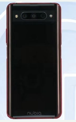 努比亞Z20工信部入網照片曝光該機采用了前后對稱雙曲面設計