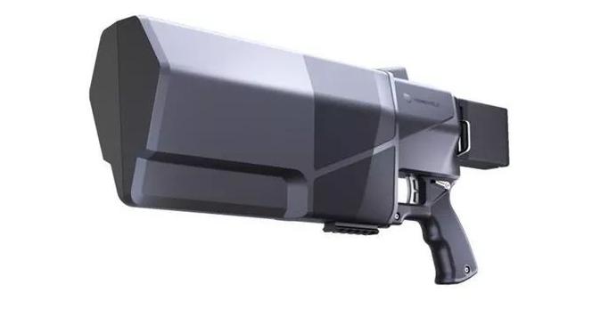 专门打无人机的枪是怎样的