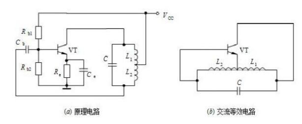 电感式三点式振荡电路