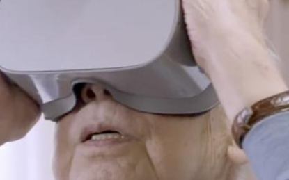 VR技术帮助日本老年人环游世界
