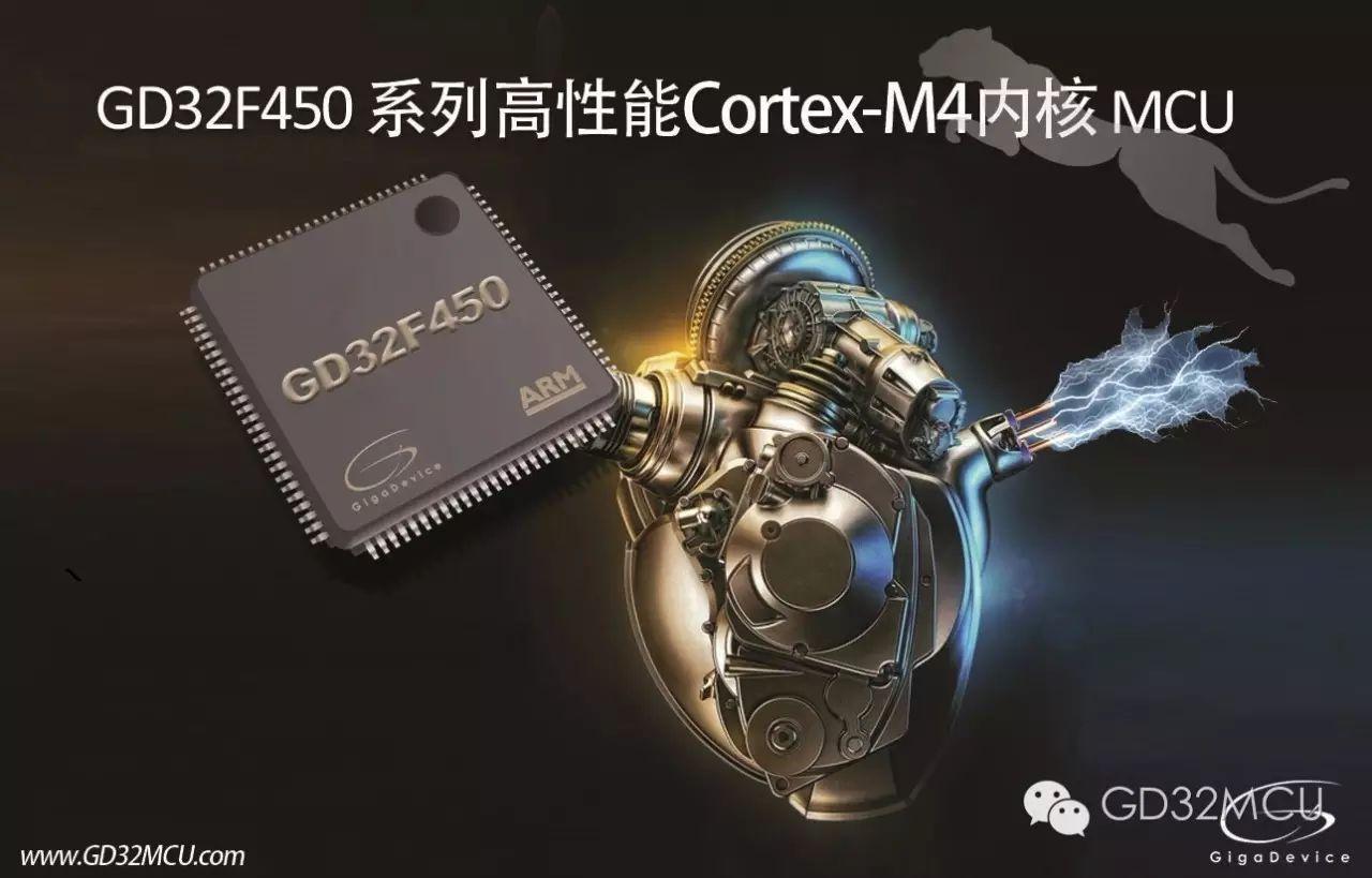 关于GD32F450系列高性能200MHz主频Cortex®-M4 MCU的介绍和应用