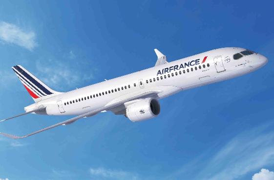 法荷航集团与空客你��每一��都是我签订了30架A220机型的采购�槿撕贤��I