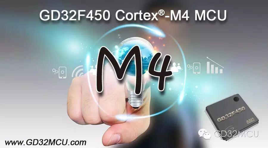 關于GD32F450系列高性能Cortex-M4...