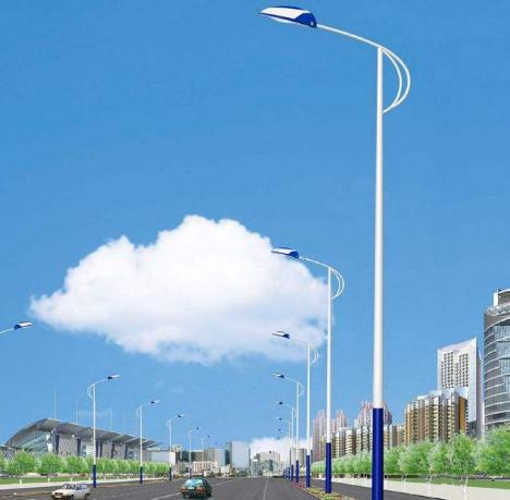 我国多地安装LED路灯 推进城市夜景亮化提升工程