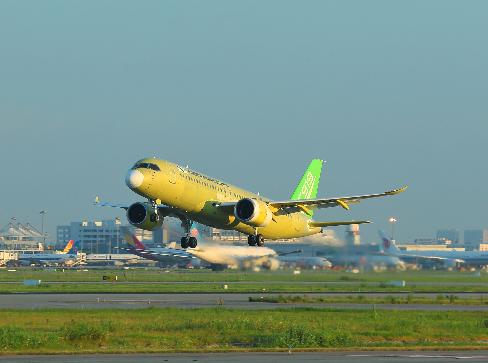 中国6架大飞机C919将在今年下ㄨ半年投入试飞